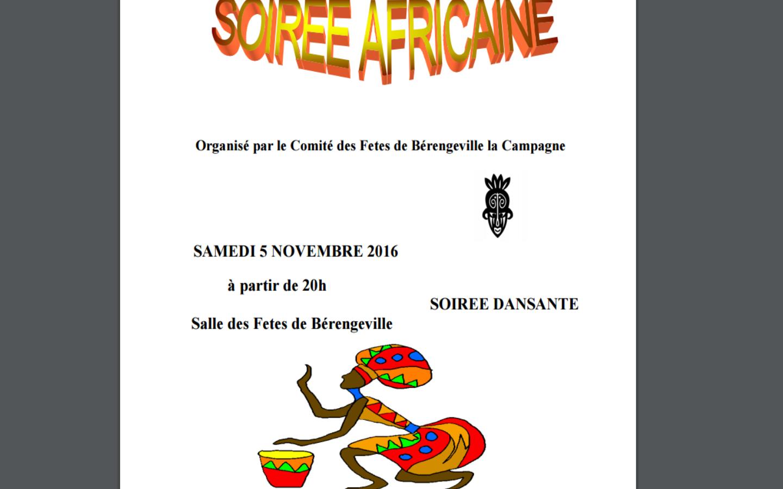 Bonne Nuit Africaine : Soiree
