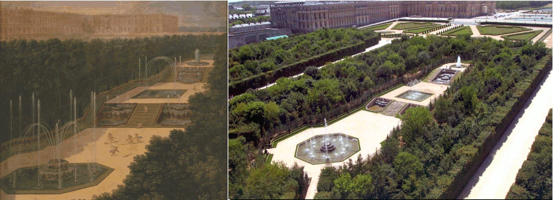 Versailles for Entretien jardin versailles